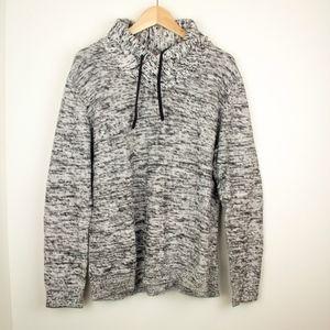 Cowl Neck Textured Sweater